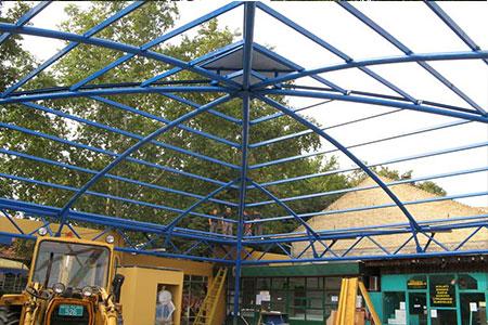 Izrada i montaza zavarene konstrukcije pijace u Backoj Palanci