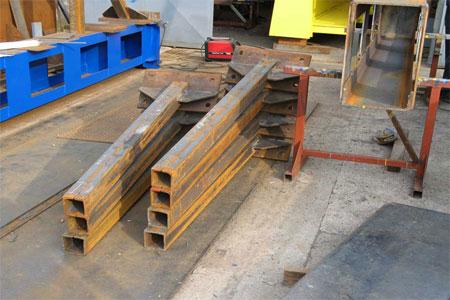 Izrada kranskih staza i stubova hale