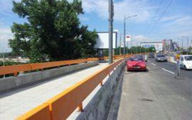 Konstrukcija zaštitne ograde pored puta