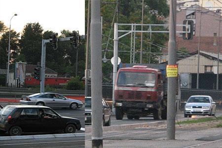 Konstrukcija za saobraćaj