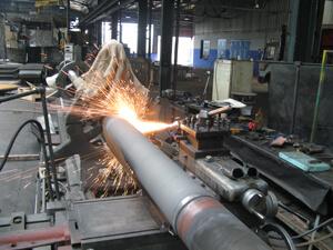 Metalizacija brodske osovine