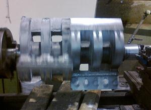 Metalizacija vratila mlina