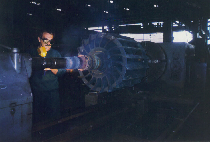 Metalizacija rotora