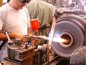 Navarivanje i metalizacija poklopca elektromotora